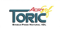 AcrySof Toric is an astigmatism-correcting IOL that received FDA approval in 2005.
