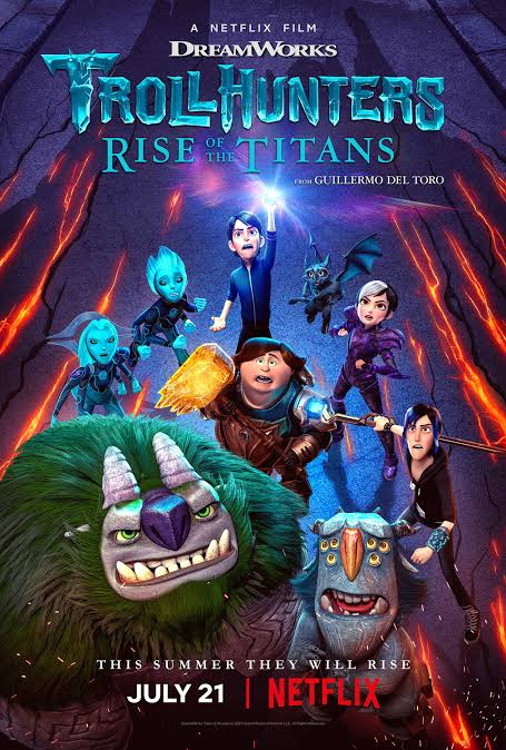Trollhunters: Rise of the Titans 2021 Dual Audio Full Movie