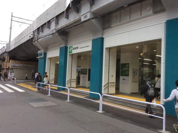 JR御徒町駅出てすぐ