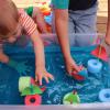 развивающие игры с губками для посуды