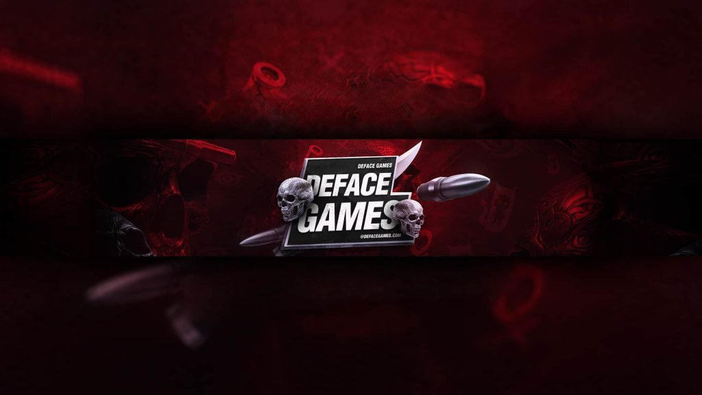 Your youtube banner size png download pic are accessible in this blog. Bloodred Gaming Youtube Cover Full Hd Deface Games