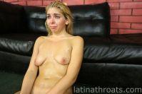 Latina Throats Cara Sky