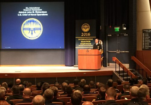 Why Military Forums Like the International Seapower Symposium Matter