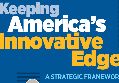 Atlantic Council's 'Keeping America's Innovative Edge'