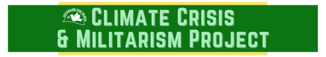 Climate Crisis and Militarism Project