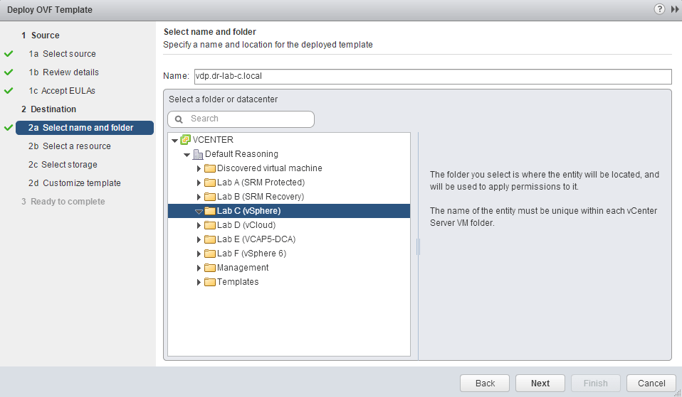 how to turn vm into ovf vsphere
