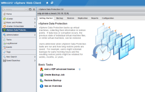 vSphere Data Protection-P1-S09