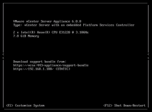 upgrade vCenter Server Appliance 5.5