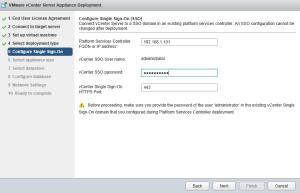 External Platform Services Controller Setup 08