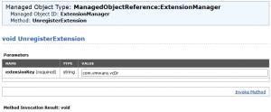remove SRM extension 03