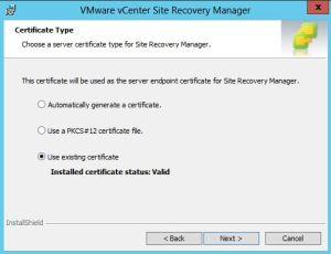 Upgrade Site Recovery Manager 6 - 03