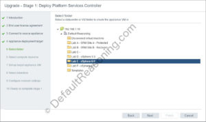vCSA 6.5 with external PSC - 07