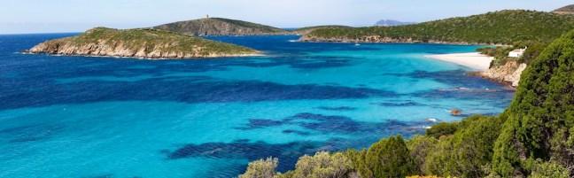 Tueradda, Teulada, Plage, Sardaigne, Sardinia, Sardegna