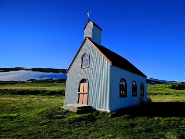 Unadsdalskirkja, église, Unadsdalur