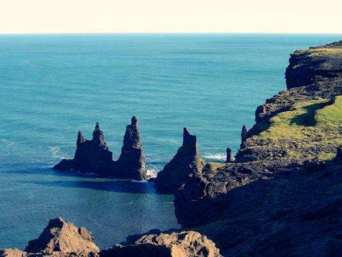 Reynisdrangar, rochers, paysages, Islande