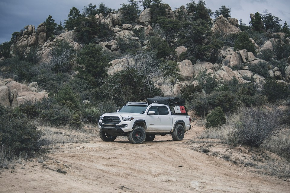 Rotiform SIX-OR on some adventure toyota tacoma