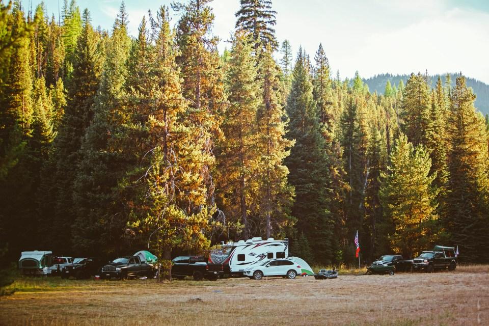 Oregon Road Trip Brixton Camping