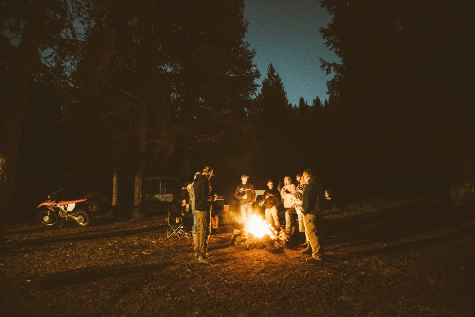 Oregon Road Trip Defconbrix Camp Fire