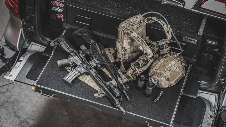 Truckvault, haley strategic, bcm, multicam, mawl