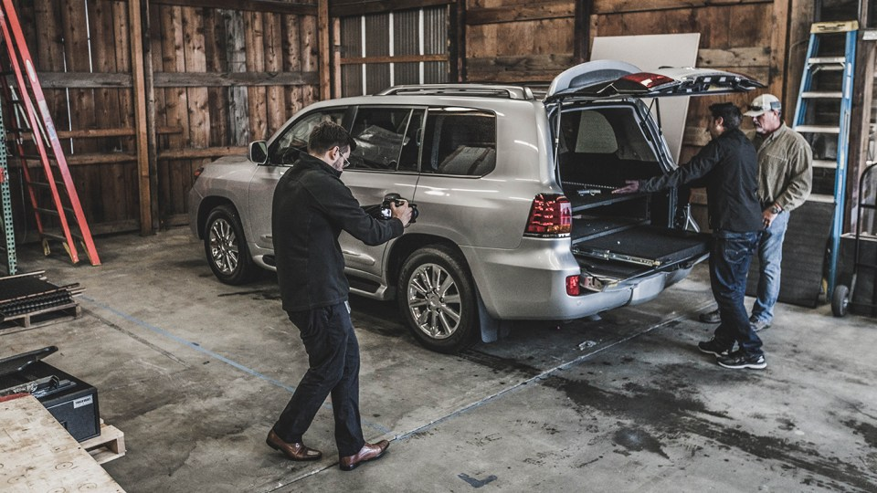Lexus LX570, overland, landcruiser, 200 series, adventuremobile, Truckvault