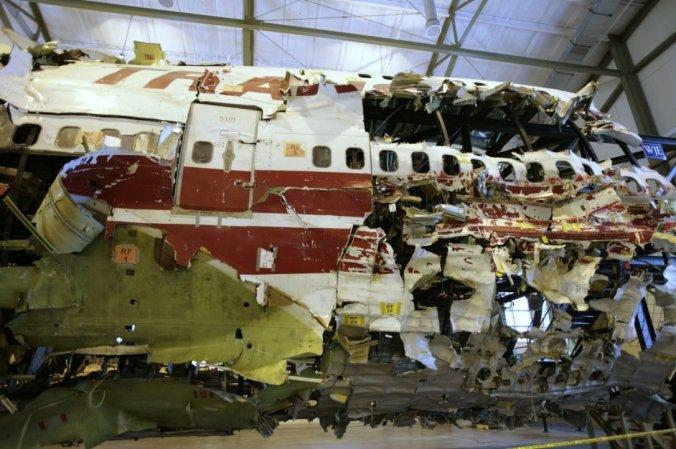 Debris of Boeing 747-131