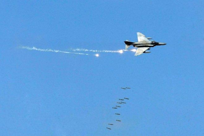 """Η εντυπωσιακή προσβολή των στόχων από τα F-4E Phantom AUP ήταν από τις πιο """"δυνατές"""" στιγμές της άσκησης που ολοκληρώθηκε χθες στον Έβρο!"""