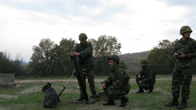 Τα αντικείμενα περιελάμβαναν εκπαίδευση ειδικοτήτων στα διάφορα οπλικά συστήματα και μέσα επικοινωνιών.