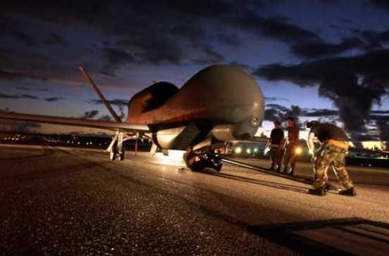 RQ-4 Global Hawk unmanned aircraft