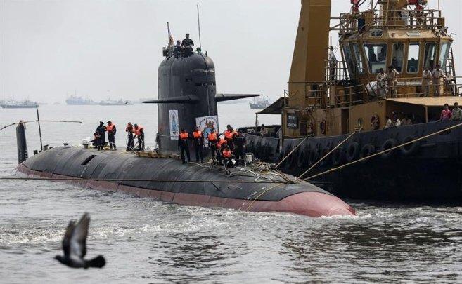 scorpene submarine