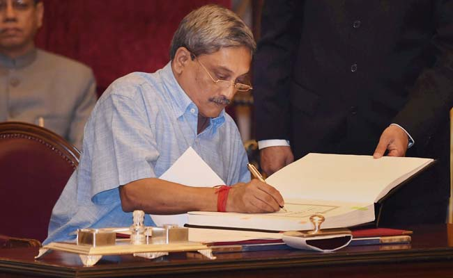 Image result for goa chief minister manohar parrikar