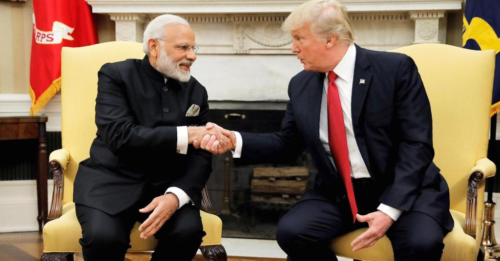 Modi, Trump will meet next month as India, US?focus on stronger ties
