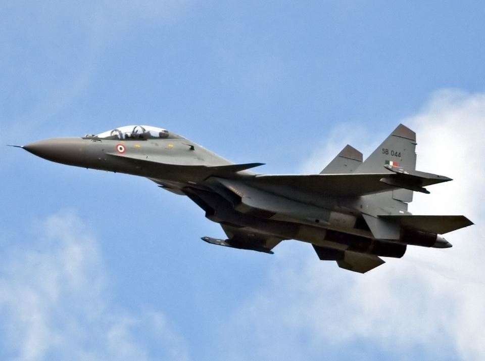 Sukhoi-30 fighter boosts Air Force's strength on border