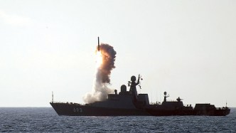 Dagestan fires a Kalibr-NK during trials last year