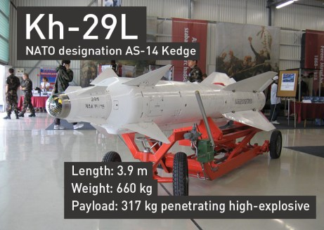 Kh-29L Air to Ground Missile ©RT