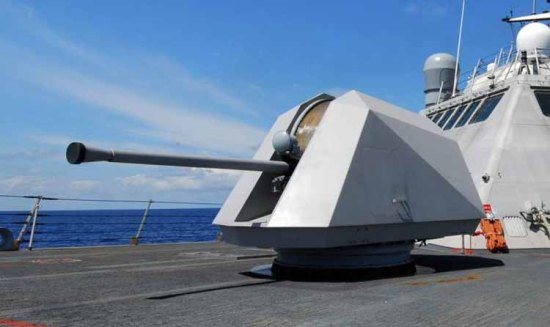 A modern Bofors 57 mm gun
