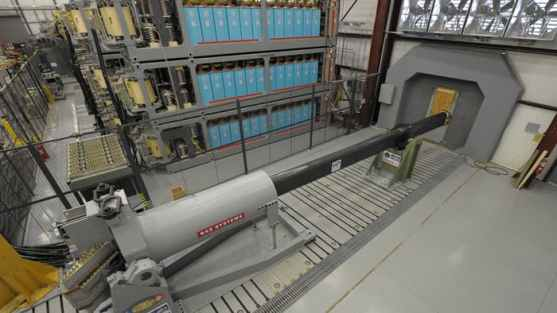An Electromagnetic Railgun prototype