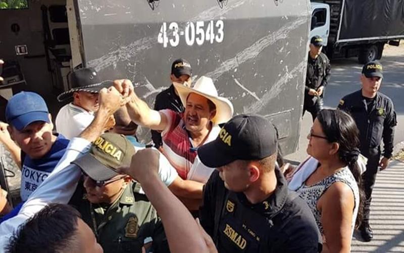 Denuncian al Estado Colombiano por detención arbitraria de 8 líderes ambientales ante la ONU