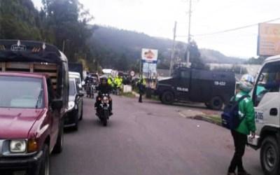 La Policía Metropolitana de Pasto y el ESMAD amenazan actividad de protesta pacífica en la Universidad de Nariño