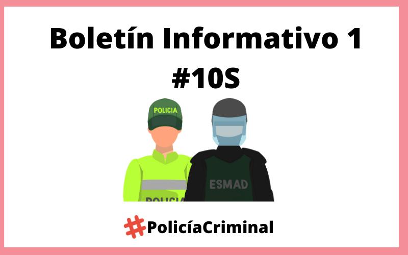 Boletín Informativo 1 #10S