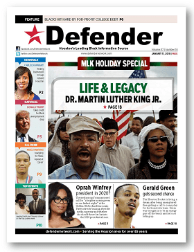 Defender e-Edition Dr. King: His life and legacy