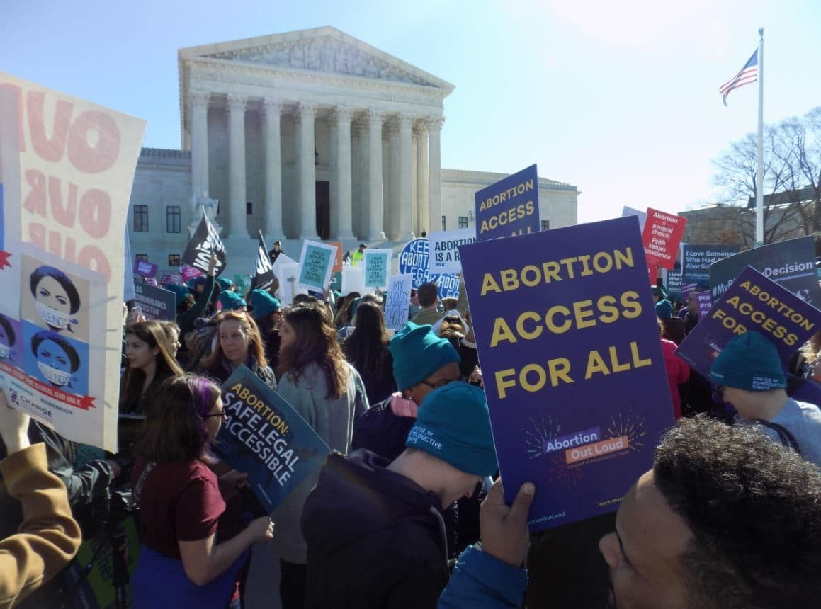Justice Dept. sues Texas over state's new abortion law