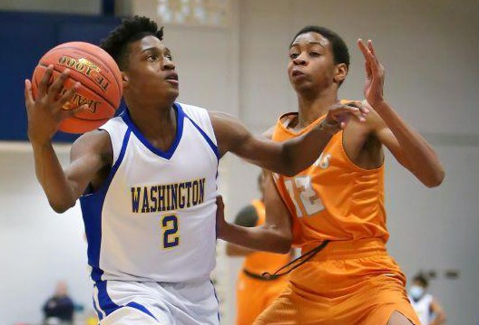 Washington guard Kenneth Lewis can't be stopped