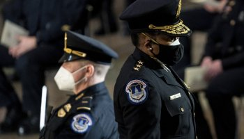 Chief: Capitol Police were warned of violence before riot
