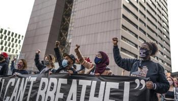 With striking of Black juror, Floyd activists see racism