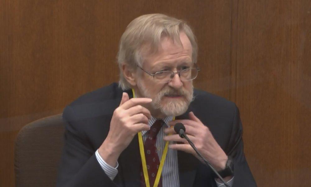Expert: Lack of oxygen killed George Floyd, not drugs