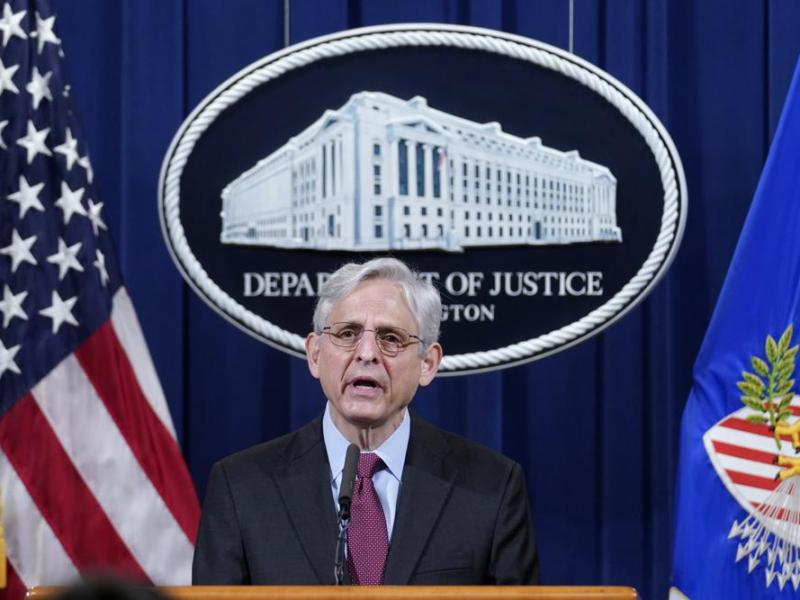 US Attorney General Merrick Garland announces sweeping police probe after Floyd verdict