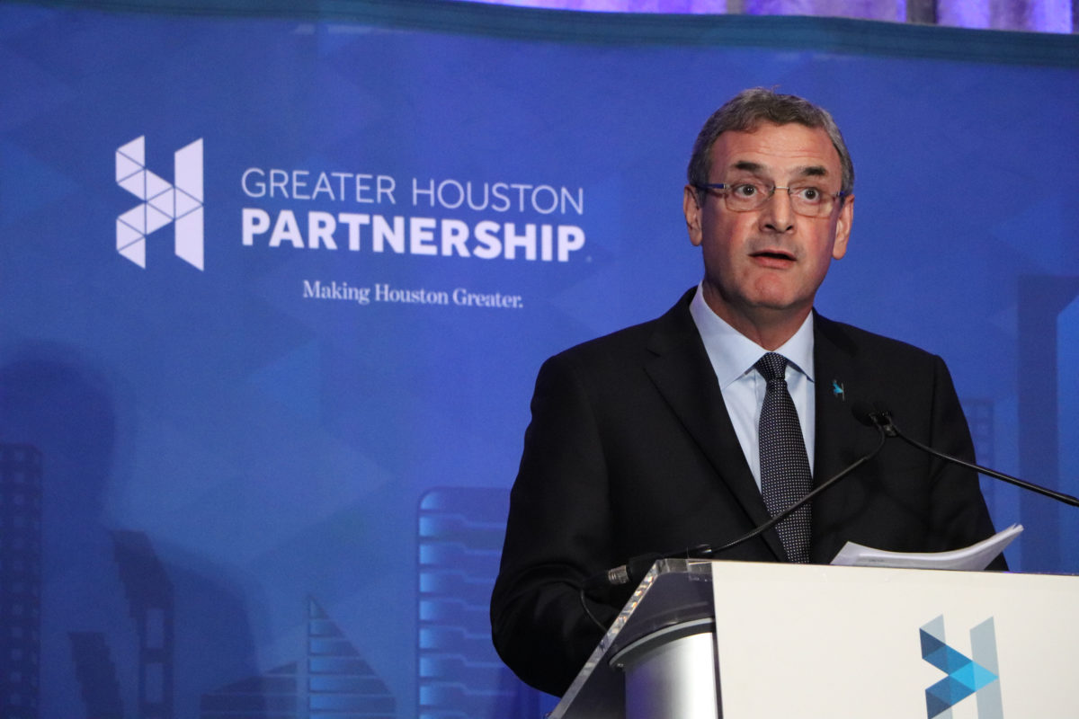 Greater Houston Partnership condemns voter suppression, but not related Texas bills