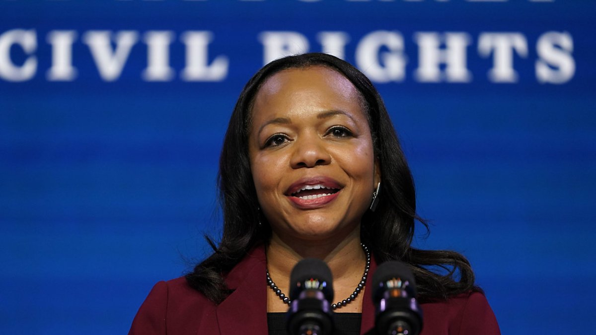 Kristen Clarke, confirmed as first Black to head DOJ's Civil Rights Division