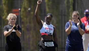 Activist/Athlete Gwen Berry seeks Olympic stage to share social justice message