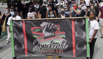 Some states aren't excited that Juneteenth is a federal holiday